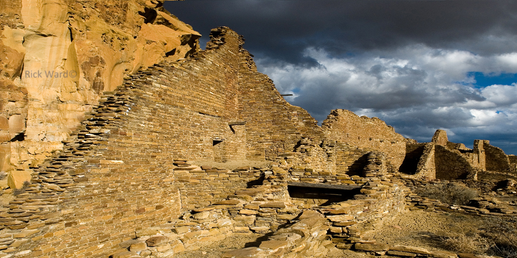 Chaco Canyon 16X32 in.