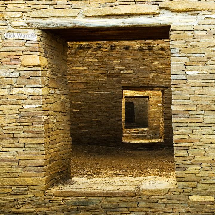 Chaco Canyon Dwellings 14 x 14