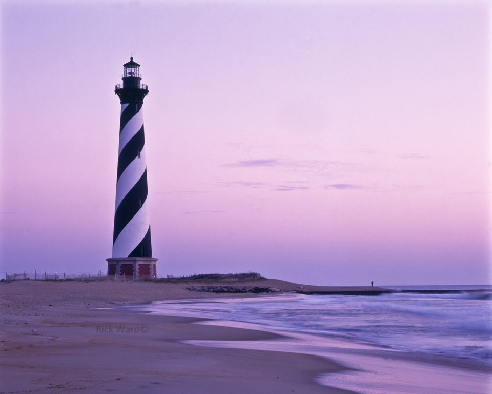Hatteras Lighthouse 24X32 in.